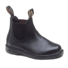 531 Black Leather Elastic Side Boot