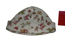 Anot Hat White Dog print