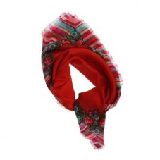 A-Square Rose Scarf Red