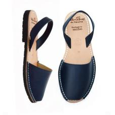 Avarca Kids Sandals Navy Leather