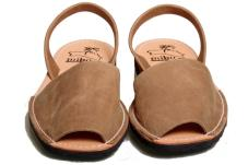 Avarca Kids Sandals Tan Nubuk