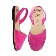 Avarca Sandals Bright Pink Nubuk