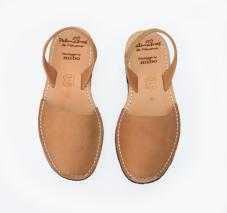 Avarca Sandals Tan Leather