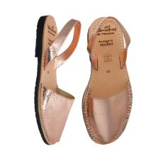 Avarcas Sandals Rose Gold Leather