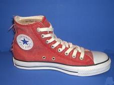 Chuck Taylor All Star Distressed Hi Red