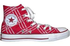Chuck Taylor All Star Red Hi Red/White