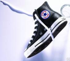 Chuck Taylor All Star Speciality Hi Black Leather