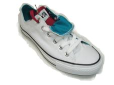 Chuck Taylor Double Tongue Ox White/Blue