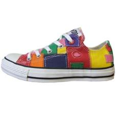 Chuck Taylor Mend It Red/Multi Patch Ox