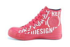 Chuck Taylor Rubber Red Hi Red/White