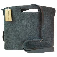 Computer Bag Pierced Handle 13/iPad Grey UC008006