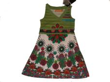 Desigual Girls Dress Mogino Lime