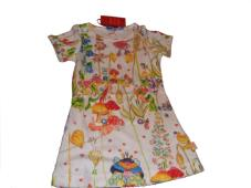 Dola-J Dress S/S Fairy Tale White