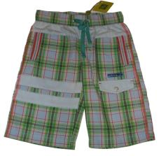 Dude Shorts Green Check