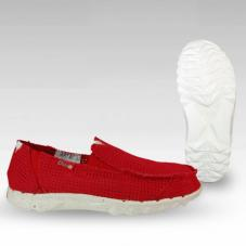 Farty Perforated Canvas Red