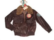 Flight Jacket Brown Leather 15500-70