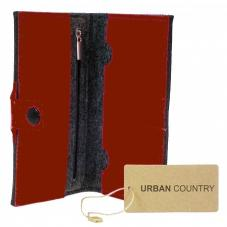 Full Wallet Felt Burgundy UC008008