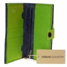 Full Wallet Felt Green UC008008