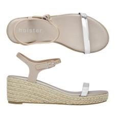 Glow Espadrille Champagne