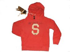 Hooded Sweat Red 40509