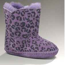Infant Cassie Baby UGG Boot :Purple Leopard