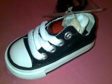 Infant Chuck Taylor Double Tongue Ox Black/Red