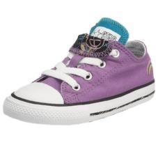 Infant Chuck Taylor Double Tongue Ox Orchid