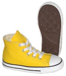 Infant Chuck Taylor Hi Yellow