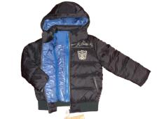 Jacket Hooded Quilted Down  Black