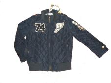 Jacket Quilted Padded Navy 10515