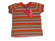 Karlos T-Shirt orange Stripe