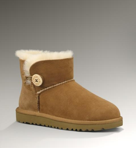 f04995b4a0 Kids Classic Mini Bailey Button UGG Boot