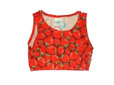 Krappy Top Strawberry print