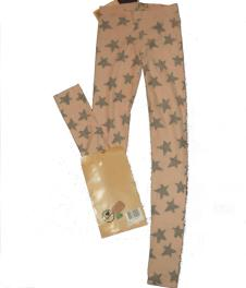 Leggings Dusky Pink with Stars