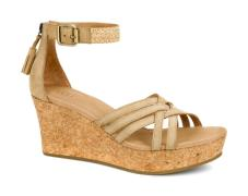 Lillie Wedge Sandal UGG :Wet Sand