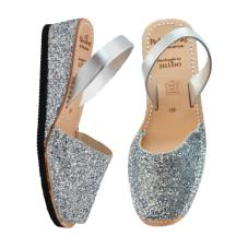 Low Wedge Avarcas Silver
