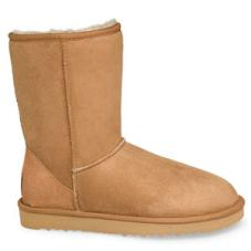 Mens Short Ugg Boot Chestnut