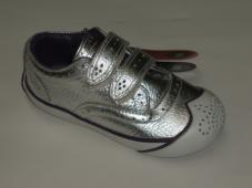 Moomin Silver Velcro Trainer