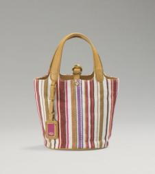 Novelty Mini Bucket Cream Sizzle Stripe