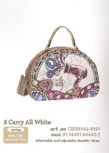 OES0142-0101 Small Carry All White