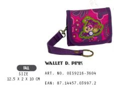 OES9216-3604 Wallet D.Pink