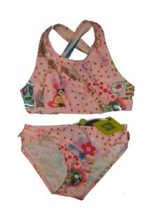 Oilily Cherry Two Piece Swimsuit Pink