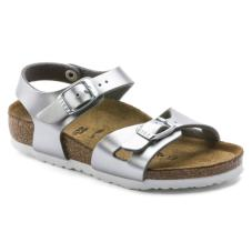 Rio Kids BF Metallic Silver: Narrow