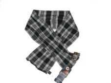 Scarf Grey Check 70709