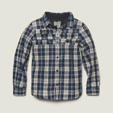 Shirt Carreaux Blue