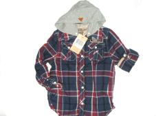 Shirt L/S With Hood 20509