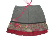 Skirt Grey/Pink Fantasy