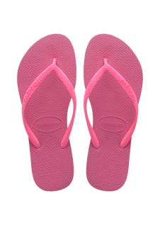Slim Kids Shocking Pink/Shocking Pink Havaianas