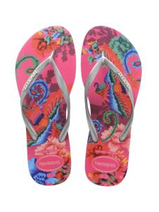 Slim Tropical Orchid Rose Havaianas