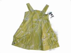 Stine Dress Green Bright Chartreuse